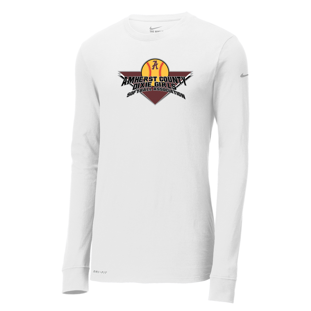 Amherst Softball Nike Dri-FIT Long Sleeve Tee