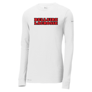 Bellaire Lacrosse Nike Dri-FIT Long Sleeve Tee