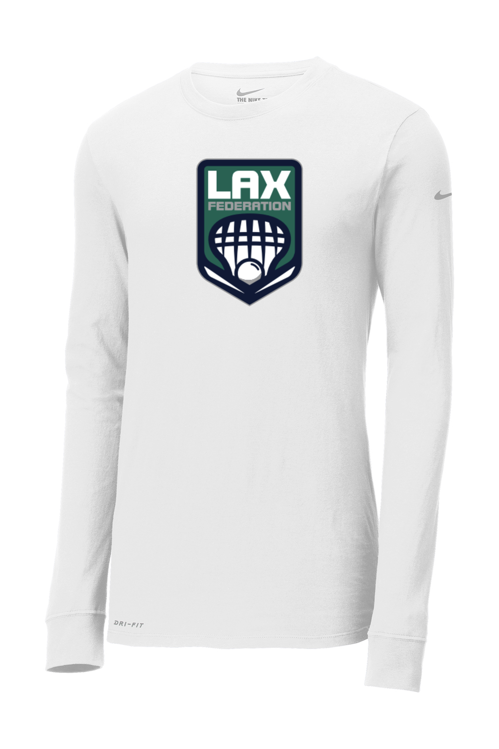 LAX FED Nike Dri-FIT Long Sleeve Tee