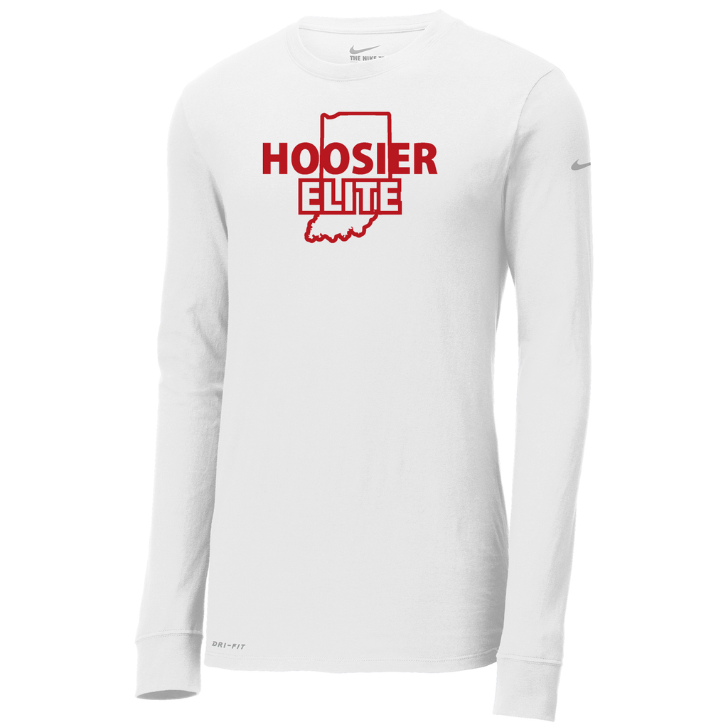 Hoosier Elite Basketball  Nike Dri-FIT Long Sleeve Tee