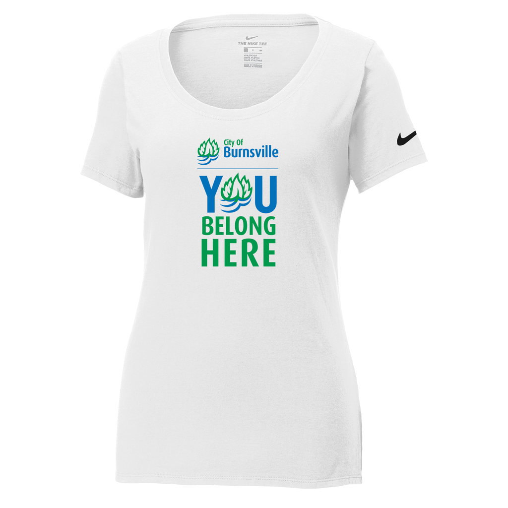 City of Burnsville Nike Ladies Core Cotton Tee
