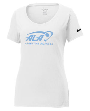 Argentina Lacrosse Nike Ladies Core Cotton Tee