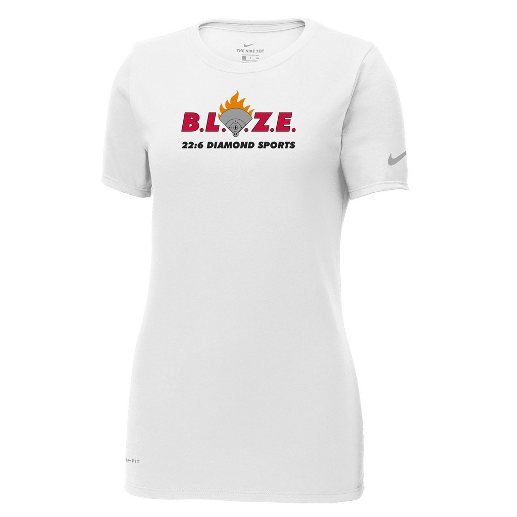 BLAZE 22:6 Diamond Sports Nike Ladies Dri-FIT Tee