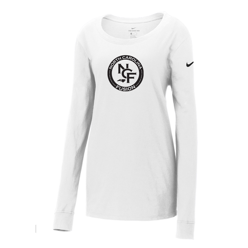 Fusion Lacrosse Nike Ladies Core Cotton Long Sleeve Tee