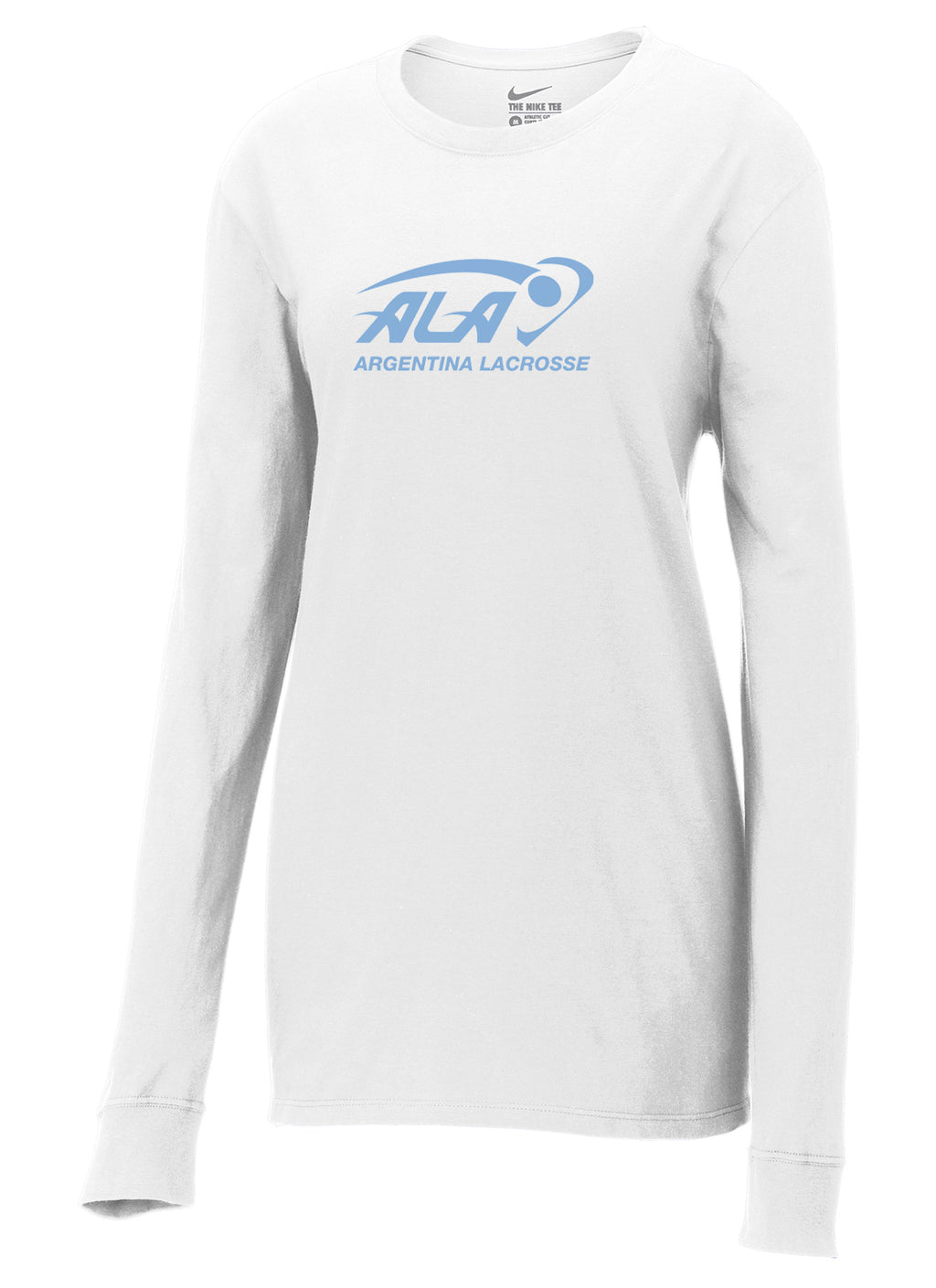 Argentina Lacrosse Nike Ladies Core Cotton Long Sleeve Tee