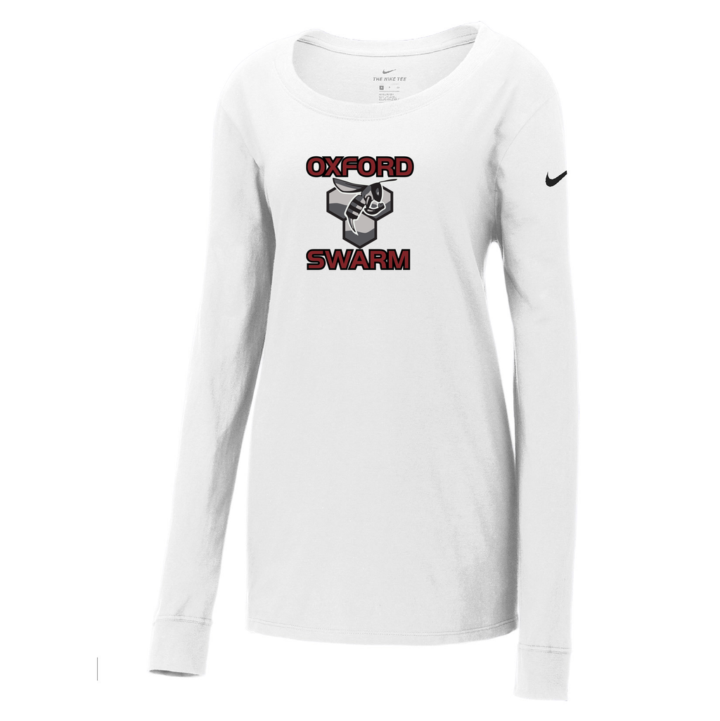 Oxford Youth Lacrosse Nike Ladies  Core Cotton Long Sleeve Tee