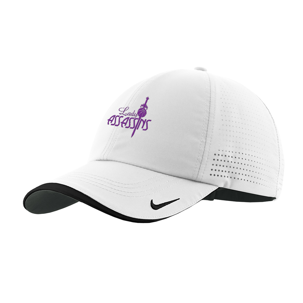 Lady Assassins Basketball  Nike Swoosh Cap