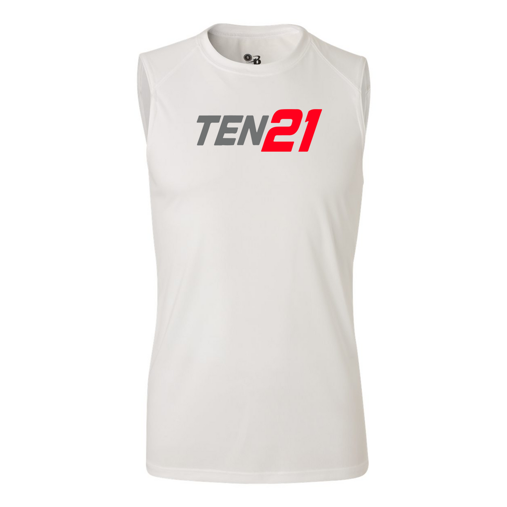 TEN21 Lacrosse B-Core Sleeveless Performance Tank