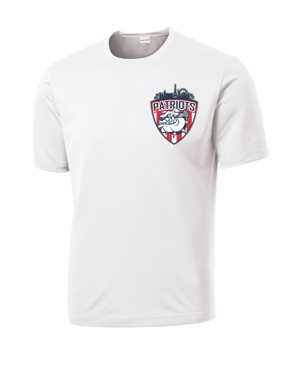 Las Vegas Patriots White Performance T-Shirt