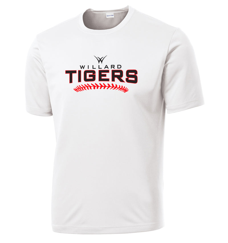Willard Tigers Baseball Performance T-Shirt