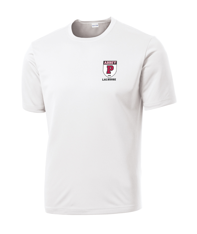 Portsmouth Lacrosse White Performance T-Shirt