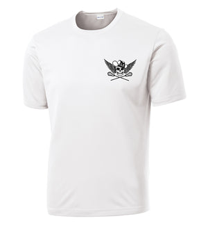 Outlaws White Performance T-Shirt