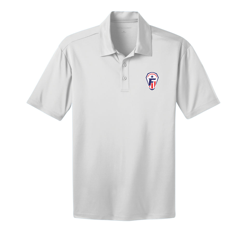 Freedom Lacrosse White Polo
