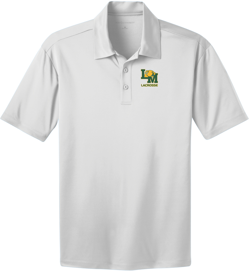 Little Miami Lacrosse White Polo