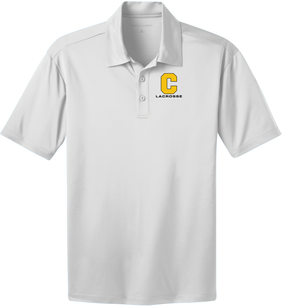 Commack Youth Lacrosse Men's White Polo
