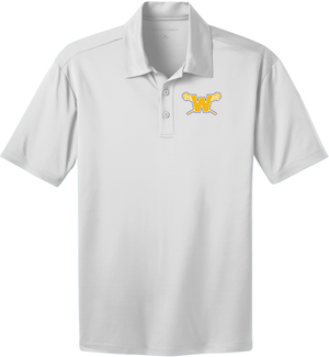 Webster Lacrosse White Polo