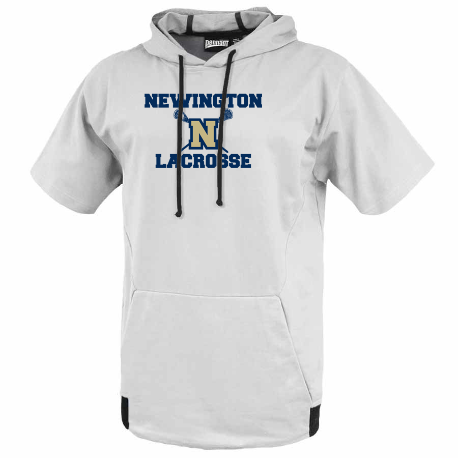 Newington High School Lacrosse Short Sleeve Hoodie
