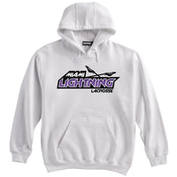 Miami Lightning White Sweatshirt