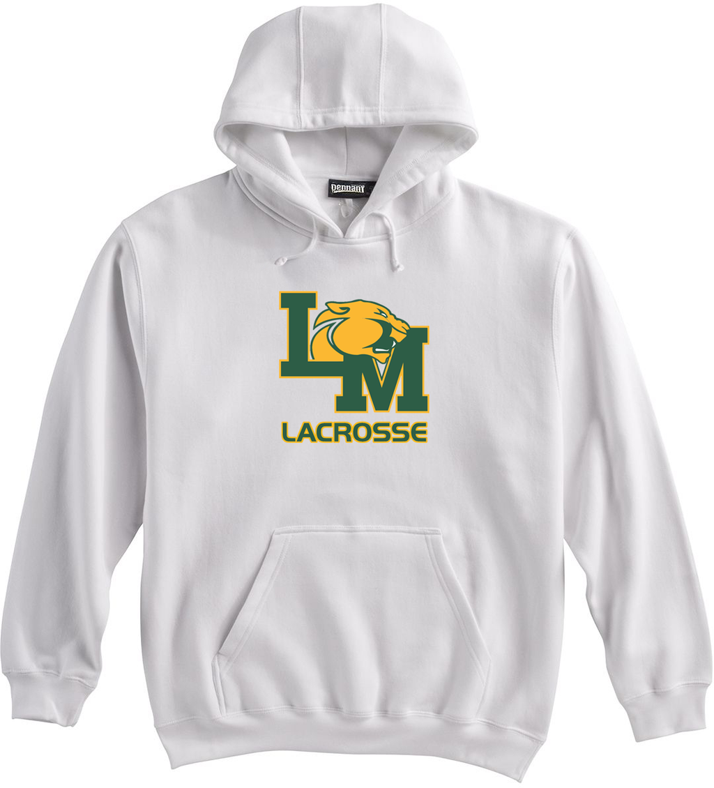 Little Miami Lacrosse White Sweatshirt