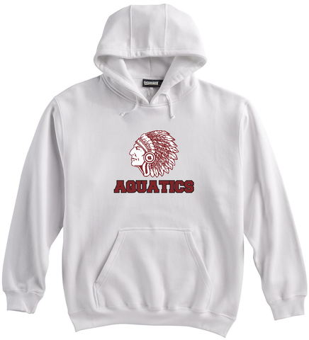 Farmington Aquatics White Sweatshirt