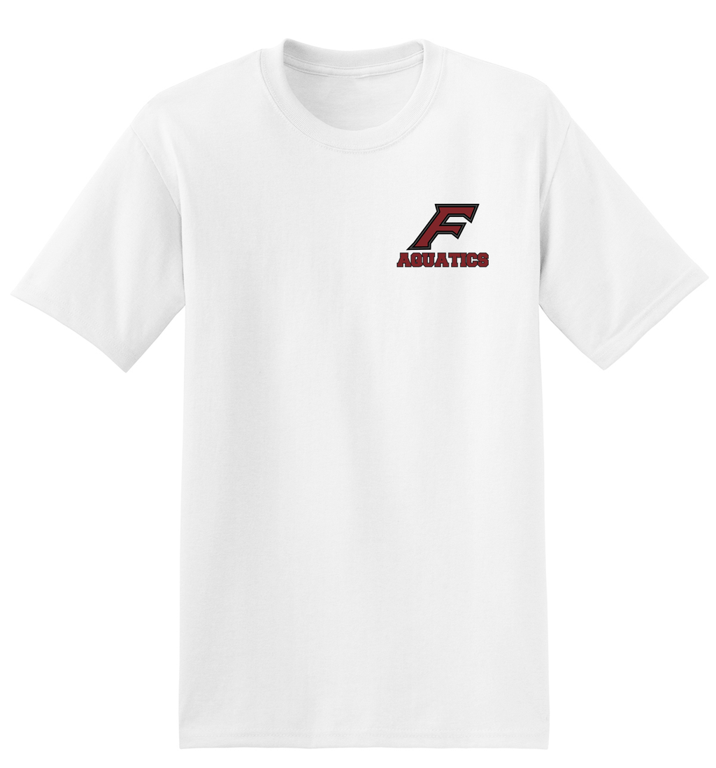 Farmington Aquatics White T-Shirt