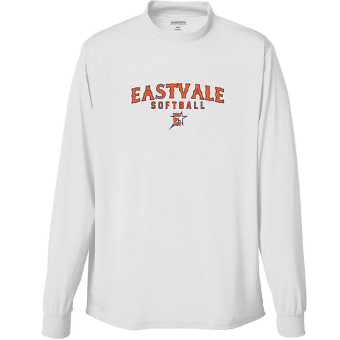 Eastvale Girl's Softball Long Sleeve Performance Turtleneck