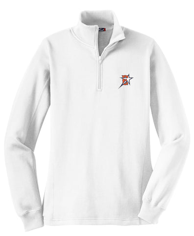 Eastvale Girl's Softball Women's 1/4 Zip Fleece
