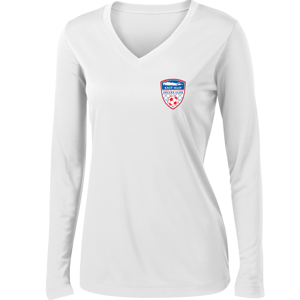 East Islip Soccer Club Women's Long Sleeve Performance Shirt