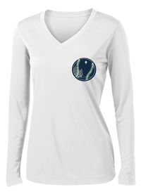 Northstar Baseball Women's White Long Sleeve Performance Shirt