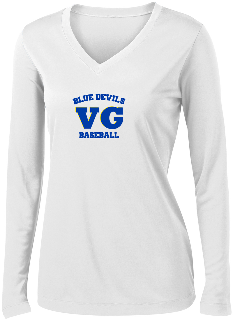 Blue Devils Baseball Women's Long Sleeve Performance Shirt