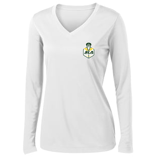 Sycamore Lacrosse Association Women's White Long Sleeve Performance Shirt
