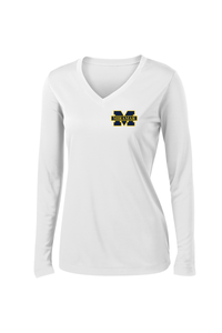 Miramar Wolverines Football Women's Long Sleeve Performance Shirt