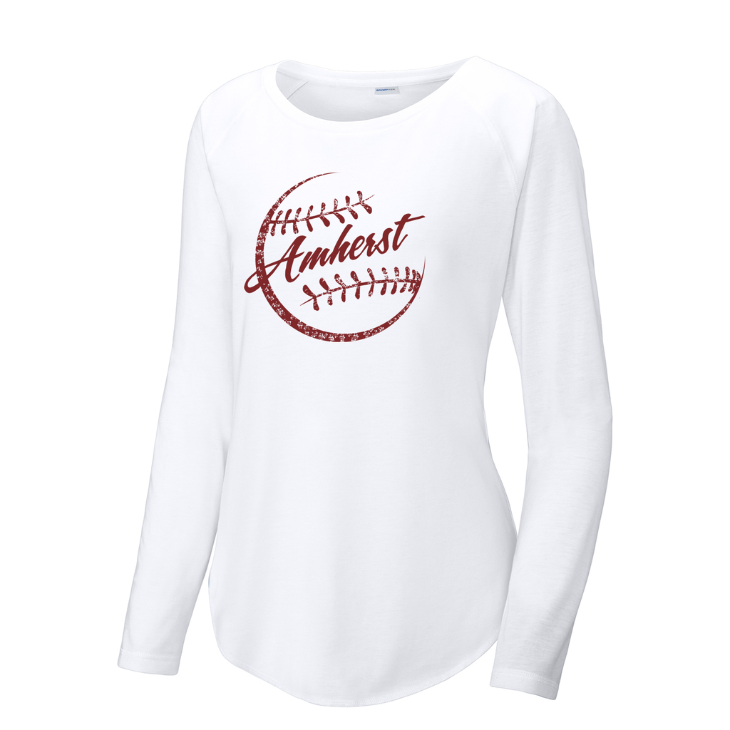 Amherst Softball Women's Raglan Long Sleeve CottonTouch