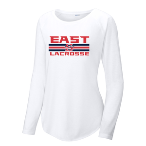 Smithtown East Girls Lacrosse Women's Raglan Long Sleeve CottonTouch