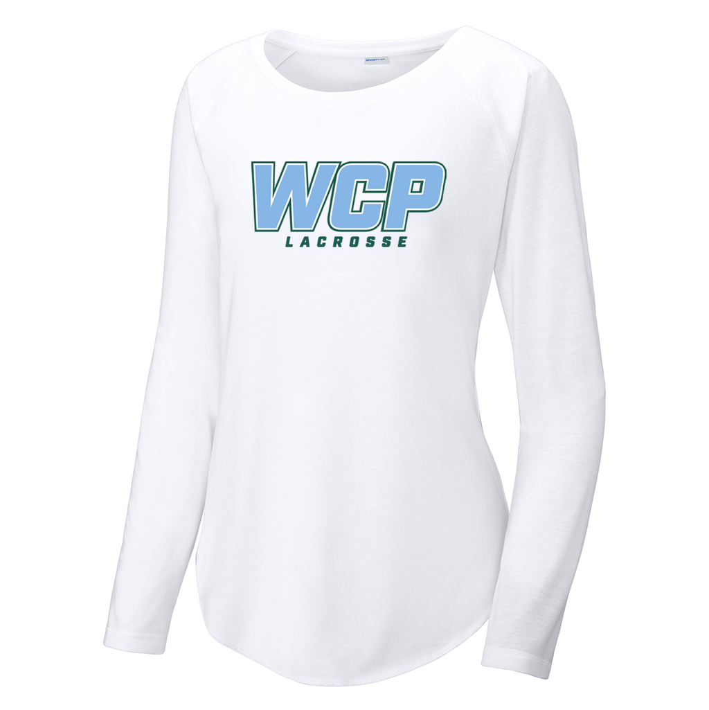 WCP Girls Lacrosse  Women's Raglan Long Sleeve CottonTouch