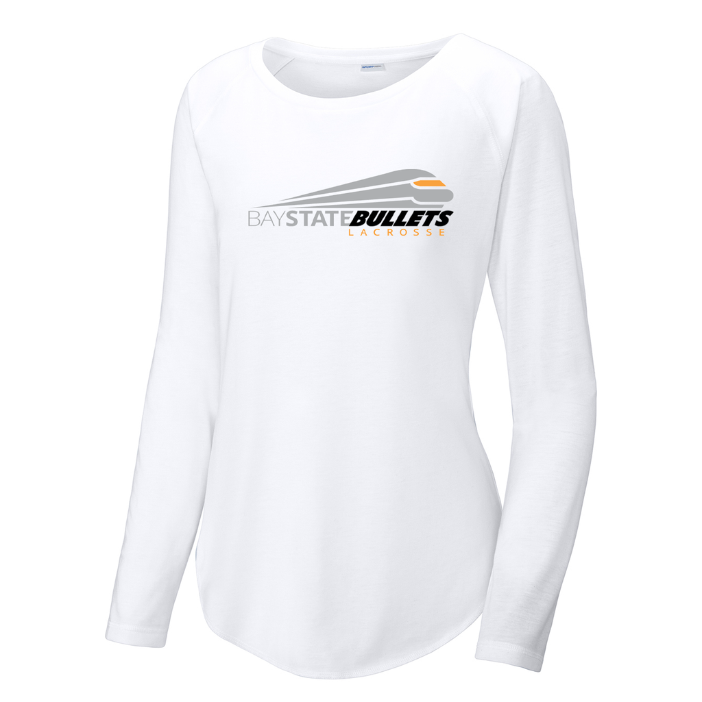 Bay State Bullets Women's Raglan Long Sleeve CottonTouch