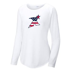 MDX North Women's Raglan Long Sleeve CottonTouch