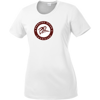 Burning River Lacrosse Women's White Performance Tee