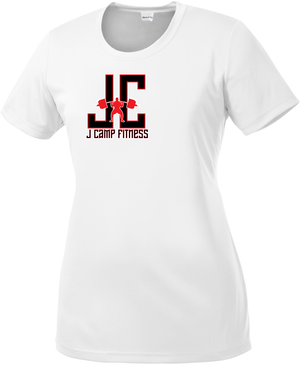 J Camp Fitness Women's Performance Tee