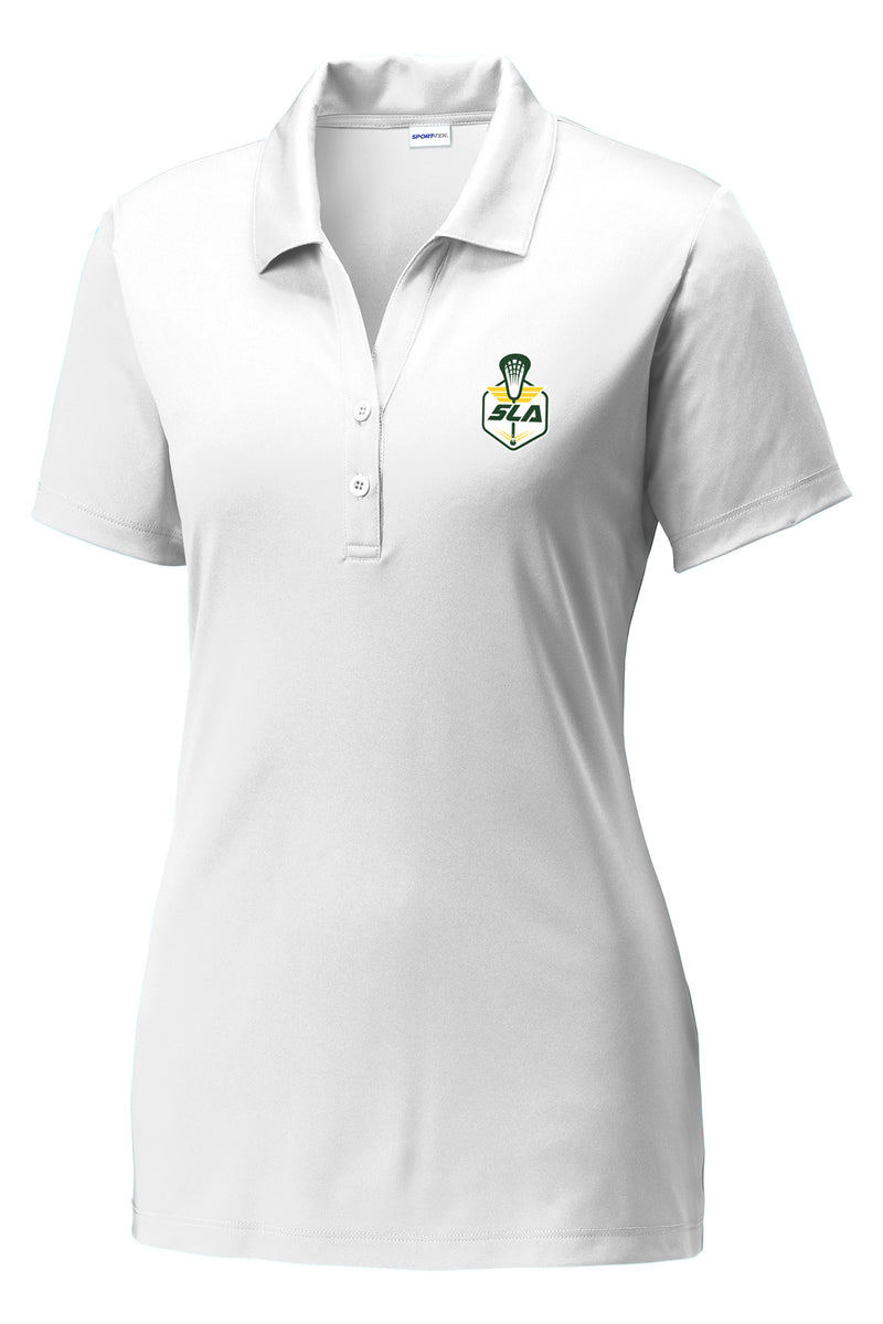 Sycamore Lacrosse Association Women's White Polo