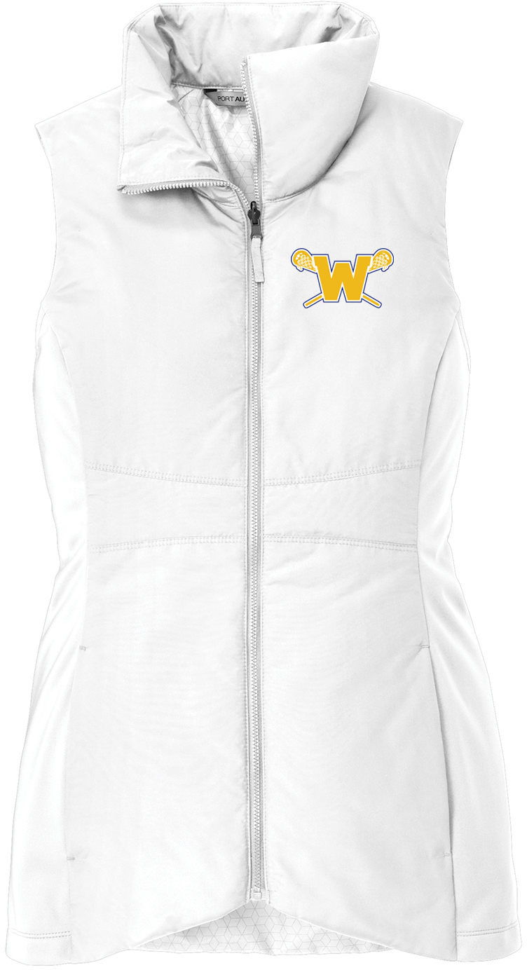 Webster Lacrosse Women's White Vest
