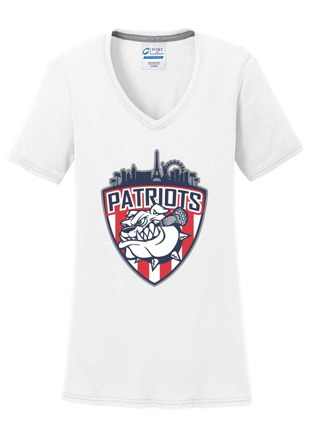 Las Vegas Patriots Women's White T-Shirt