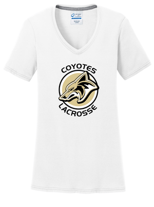 Dane County Lacrosse Women's White T-Shirt