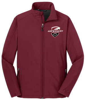 Windsor Maroon Soft Shell Jacket