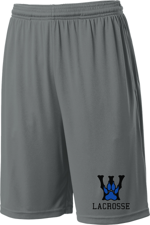 West Houston Wolves Grey Shorts