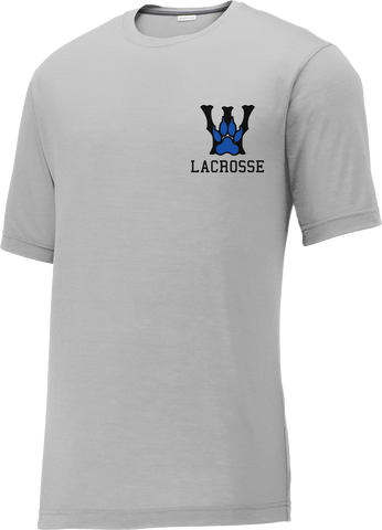 West Houston Wolves Grey CottonTouch Performance T-Shirt