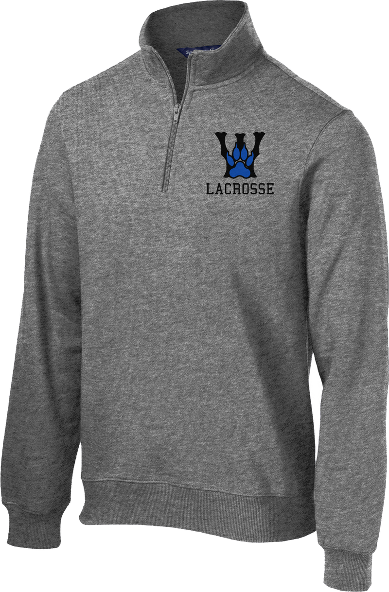 West Houston Wolves 1/4 Zip Fleece