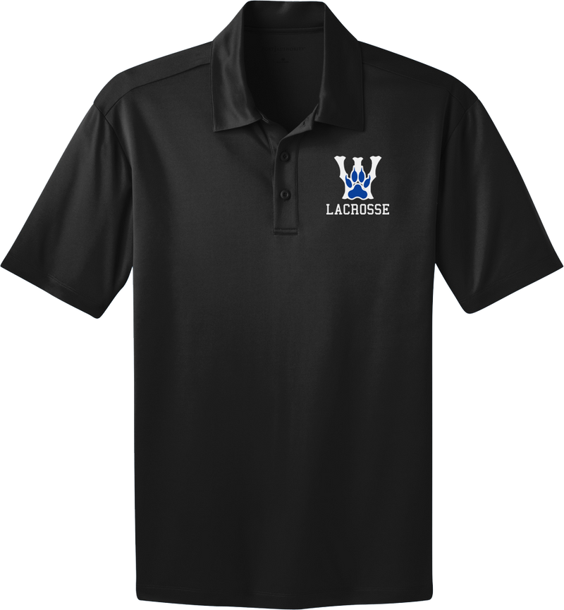 West Houston Wolves Black Polo