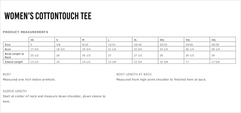 J Camp Fitness Women's CottonTouch Performance T-Shirt