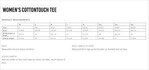 Bellaire Lacrosse Women's CottonTouch Performance T-Shirt